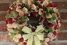 Garlands & Wreaths ( Guirnaldas y Coronas) DIY / by Rosario