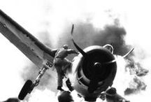 WWII ERA♢1933-1945 / Roosevelt♢1st 100 days♢Albert Einstein♢Manhattan Project♢J E Hoover♢War n Europe♢Hitler & Holocaust♢Pearl Harbor♢Rosie the Riveter♢Jesse Owens♢Truman♢The Bomb♢ / by Le Laroi