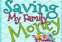Money Saving Tips / This is a great source for learning how to use #coupons and #savemoney. Learn how to #stockpile groceries and in all areas of your life. Frugal living. / by Kathy Ennis
