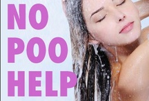 No Poo & Low Poo  / No Poo Method tips, tricks and recipes for (shampoo free) No Poo, natural hair. Ya gotta love chemical free hair! / by Code Red Hat