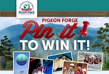 Pigeon Forge Pin2Win / Congratulations to our winner Jennifer M. of Washington, IN!  The sweepstakes ended on July 18, 2013. To find out about other Pigeon Forge sweepstakes, special events, and savings connect with the My Pigeon Forge Fan Page. / by Pigeon Forge Department of Tourism