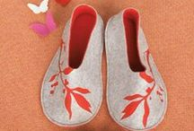 Slippers inspiration & DIY / never ever cold feet again / by Donatella inspiration&realisation