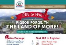 Pin to Win 2014 / Enter our second annual Pigeon Forge Summer Pin to Win campaign!  / by Pigeon Forge Department of Tourism