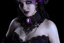 Gothic and Steampunk make up / gothic and steampunk make-up ideas / by Gothic Wedding Angel.com