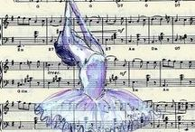 Music sheet Crafts  / by yvonne