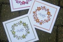 Cards: Sets / Wish I could connect with Lesley Court.  You sound like my clone. / by Brenda Strachan