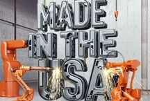 Made in the USA / All Mountain Woods Furniture is hand-crafted in the United States of America, and we love to promote those who do the same! / by Mountain Woods Furniture Manufacturing LLC