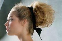 Hair & Make up / Hair up do and make up. / by DinekeDinah van der Werf