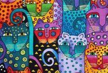 katten - cats - gatos/gatitos / by Tormenta Maine Coons