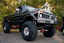 Ford trucks only / best trucks ever made, i will always be a (FORD GIRL) / by Becky