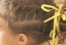 Girl Hairstyles / by Tiffany {Life as Five}