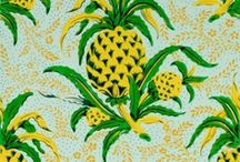 pineapple design / the symbol of hospitality / by Polly Dunlop
