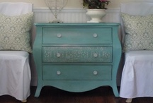 Annie Sloan Chalk Paint ASCP & Related Work / by French Country Renovation