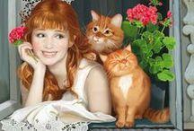 Кошки в искусстве (Cats in art) / by Алексей Железнов (Alexey Zheleznov)