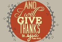 Thanksgiving & Autumn / by Lorraine Nolte