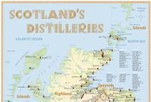 Scotland's Distilleries (Whisky Map) / Scotland's Distilleries; www.alba-collection.com / by Alba Collection