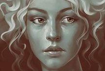 Dessins - portrait / by Une histoire de fil