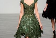 Crochet dress / dress / by Aor