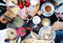 """Food / """"Food is our common ground, a universal experience."""" - James Beard / by Margaret Potter"""