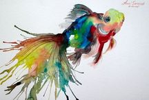 Painting Inspirations / Watercolors / by Debbie French