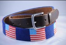 Proud Threads / Our line of belts that allow you to show where you're coming from and what you're proud of / by Good Threads