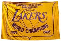 L.A. Lakers Purple Reign / West and Wilt.  Magic and Showtime of the 1980s to Shaq, Kobe and Phil. A Dynasty is not born from random or occassional success it comes after deacdes of excellence. Great players. Great Coaches. Championships. This is Purple Reign. / by Darth Pinner