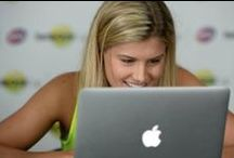 #AskGenie: Bouchard's Twitter Takeover / Rising WTA star Genie Bouchard stops by the Xerox Media Center for an #Unmatched fan-driven Q&A session. Check out Genie's reactions from her Twitter Takeover as she answers some interesting and comical fan questions. #FCC2014 / by Family Circle Cup