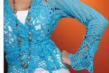 ropa crochet-ganchillo / ropa de ganchillo-crochet / by artesanias ganchillo Azu Baron