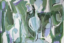 Kerry Irvine Fine Art / Abstract artist Kerry Irvine works with color and form, often calling upon nature, landscape and the human figure to inspire her work. Growing up on Long Island provided her with the many rich visuals so prevalent in her work. / by gallery 37