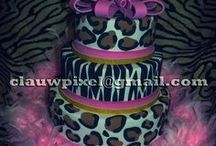 Animal Print Cakes / by Claudia Martins