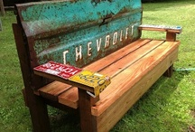 Woodworking ideas / by Collette Anderson