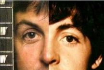 Beatles and Featles / Because some things you can't fake...hair patterns (head and body), hand size and shape, forehead slope, height, nips, ... / by Never Done Learning