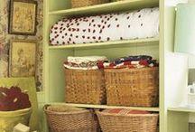 Organization for Home / Ideas to put some order to our chaos! / by MsGatto