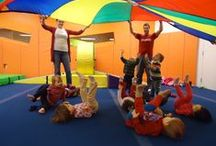 Kidville - Happy Kids, Happy Families / Featuring classes for kids up to age 6, birthday parties for kids, children's boutique, children's salon, and more at locations around the world! / by Kidville