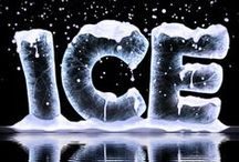 Art = Ice /  Just like on a Cruise or Alaska, maybe / by Patricia Leafty