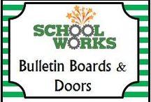 Bulletin Boards & Doors / by School Works