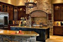 Dream Kitchens / Kitchens / by Maria Fisher