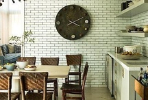 Kitchen / farm country modern industrial  / by Bella Zella