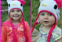 Crochet and Knit Children's Hats / by Paulette Swim