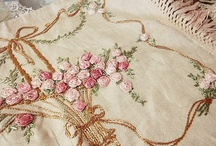 Needlework and Embroidery / Beautiful needlework, embroidery and beadwork. / by Kitty and Me Designs