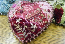 Pincushions / Unique pincushions / by Kitty and Me Designs