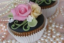 Beautiful Cupcakes / I've seen so many beautiful cupcakes here at Pinterest.  I had to start collecting all the wonderful photos! / by Kitty and Me Designs
