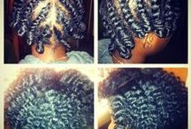 My natural girl / hairstyles, care and tips for little natural hair. Styles to try on De'Niya. / by sasha james