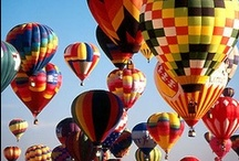 HOT AIR BALLOONS / Up, up and away..in my beautiful, my beautiful balloon.... / by Darsi Arwood