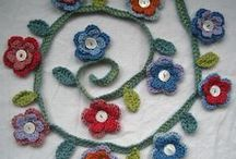 Crochet Flowers / A glorious collection of floral hookiness!  See my blog for crochet and hand embroidery tutorials http://handstitchedstories.blogspot.co.uk / by Julie Bull