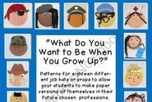 """Wheatley: Grade K Unit 3 / """"Exploring with Friends in the Neighborhood"""" - In this third six-week unit of kindergarten, students explore fictional characters in literary texts and neighborhoods in informational texts. / by Common Core"""