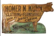 Antique trade signs / by Rod Wilson