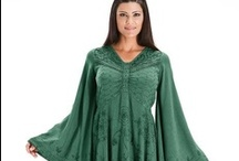 Ariana Bell Sleeve Butterfly Tunic Top / You'll love Ariana for cooler winter/spring days and summer evenings. / by HolyClothing.com