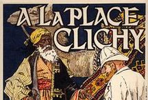 """Department Stores (including """"a la Place Clichy"""") / Vintage Posters / by Yaneff International Fine Art"""