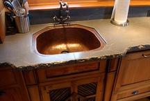 Kitchens Concrete Countertops / by James McGregor